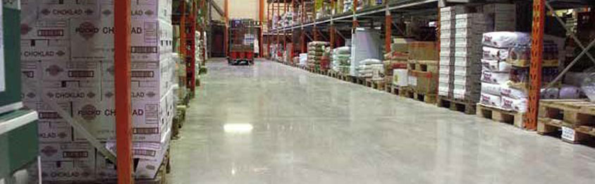 polished concrete interior floors